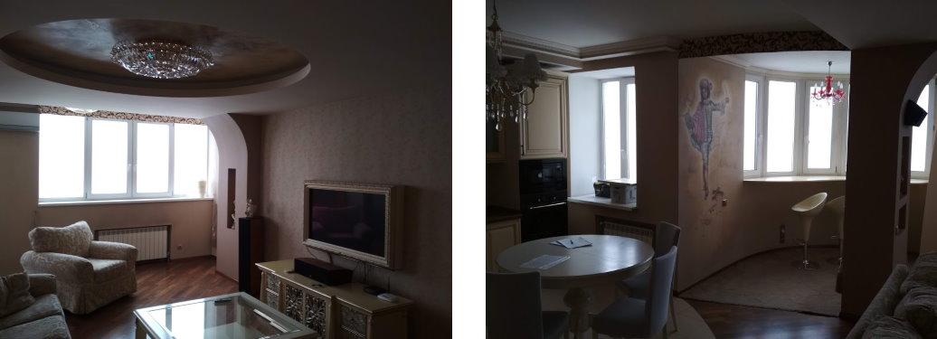 Уборка трехкомнатной квартиры на Позняках
