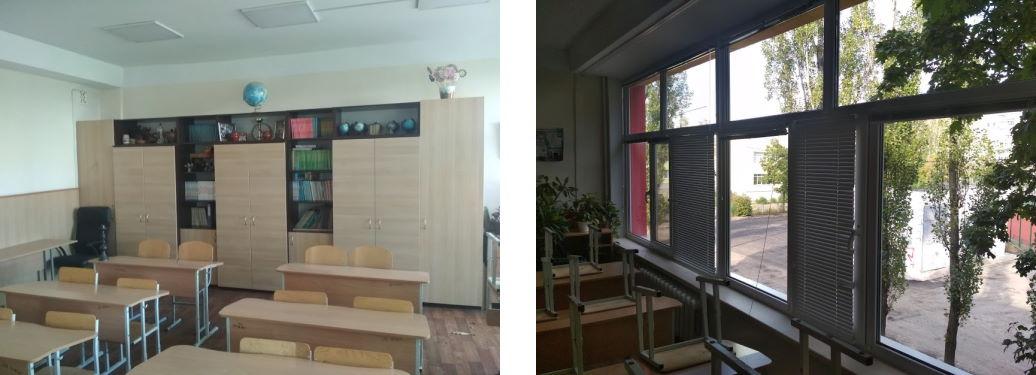 Уборка и мойка окон в школе