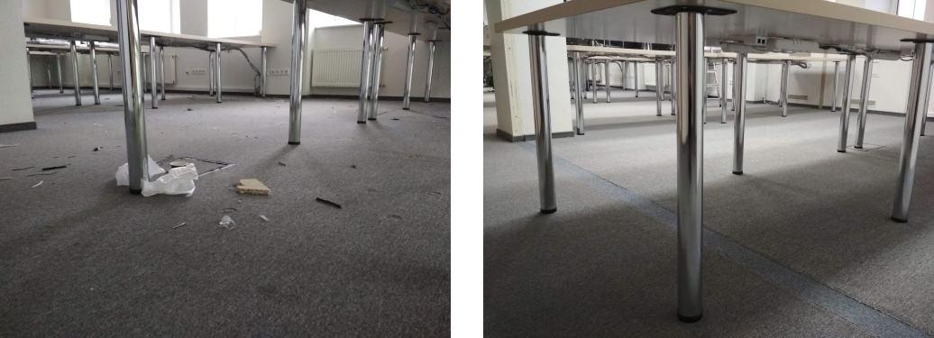 Уборка после ремонта в офисе