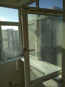 окно через два года после ремонта