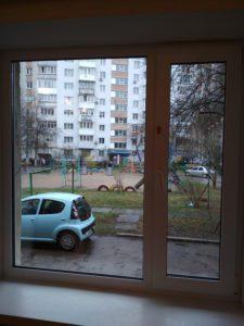Чистое окно без разводов