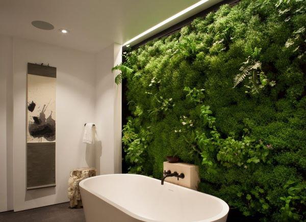 экологически чистая ванная комната