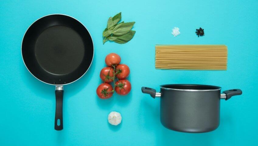как очистить сковородку от нагара