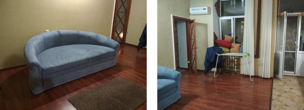 Уборка квартиры и химчистка дивана