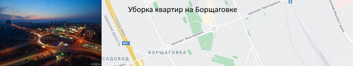 Уборка квартир Борщаговка
